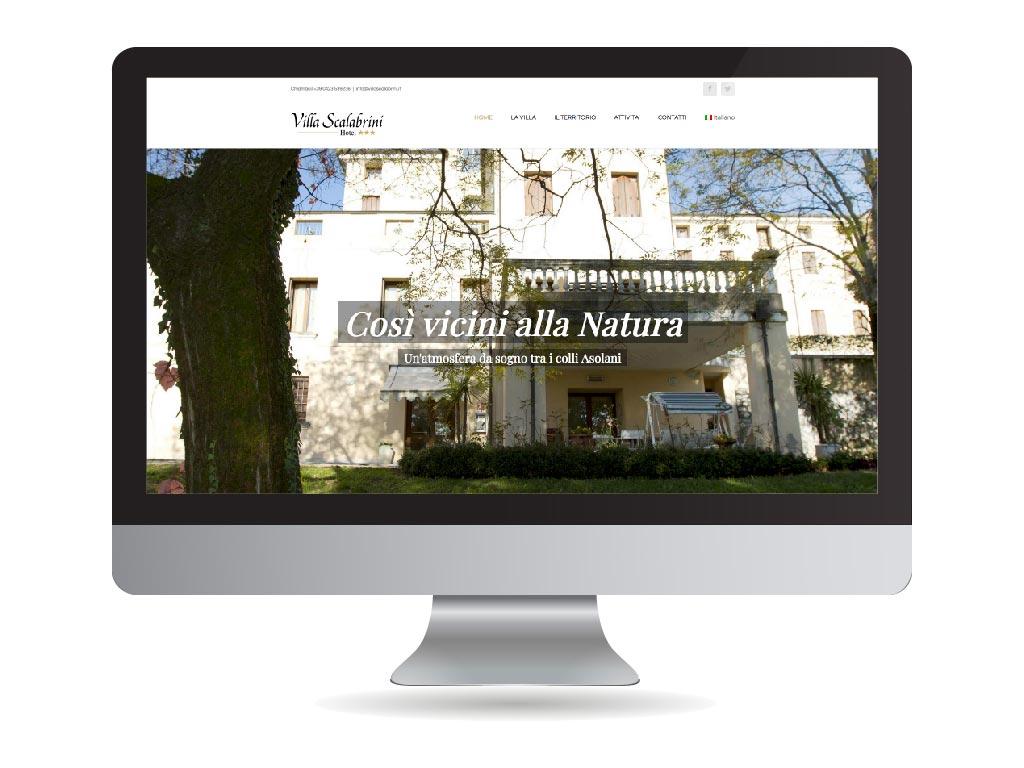 realizzazione sito web villa scalabrini