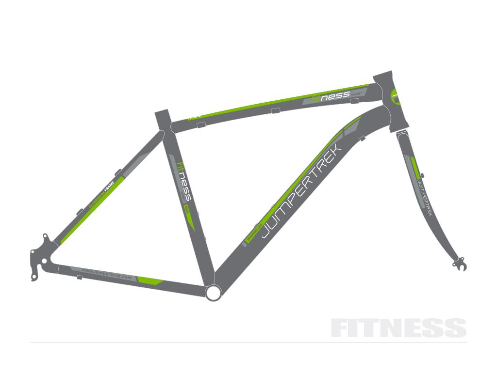 grafica bicicletta Fitness