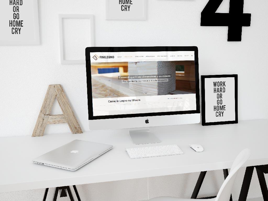 creazione sito web finilegno
