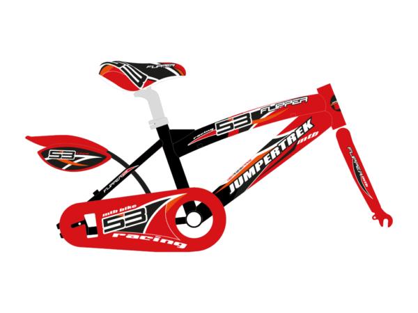 grafica bicicletta bambino mtb flipper
