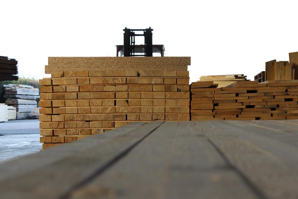legno per imballaggi