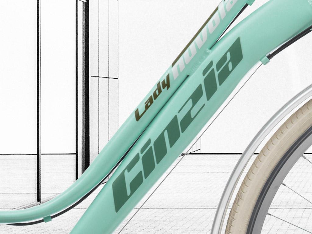 logo cinzia bicicletta