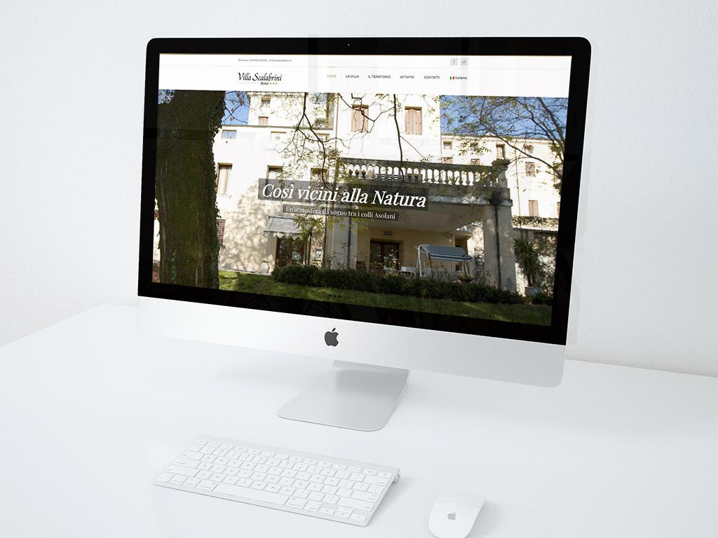 realizazione sito web villa scalabrini