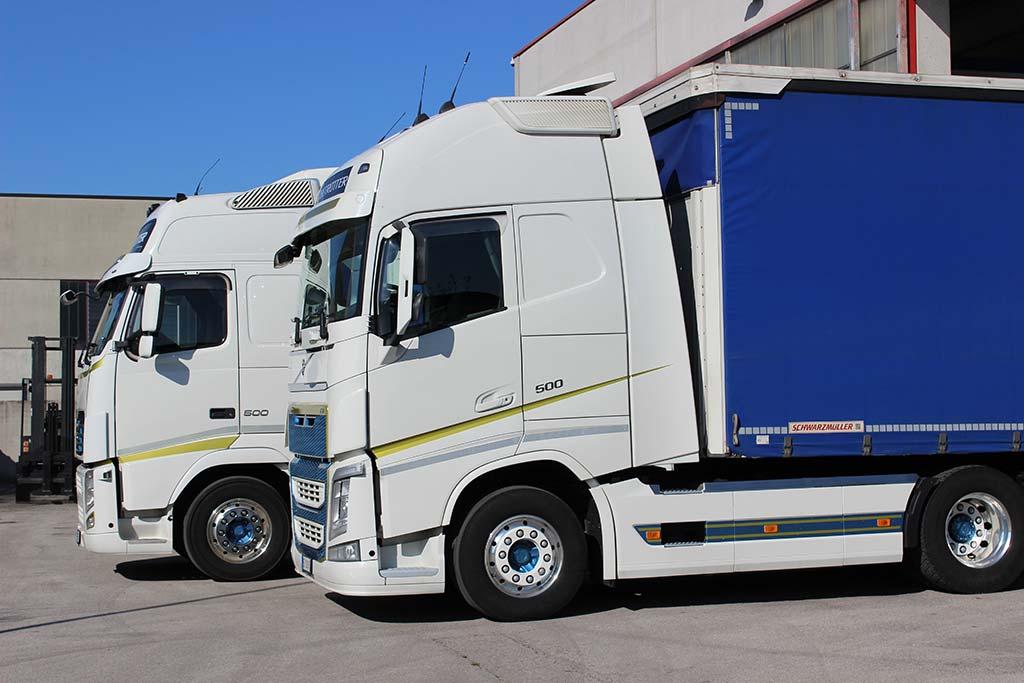 Camion Guzzo trasporti