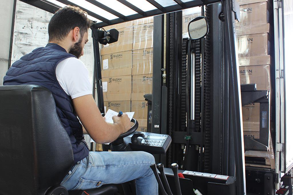 Camionista muletto Guzzo