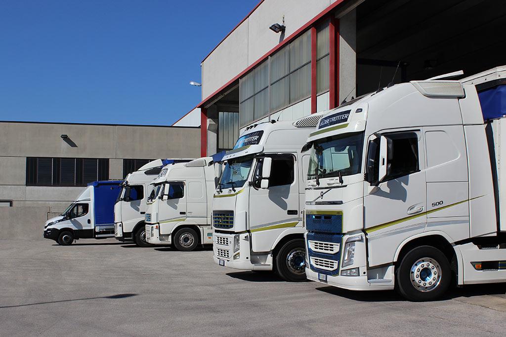Flotta camion Guzzo trasporti