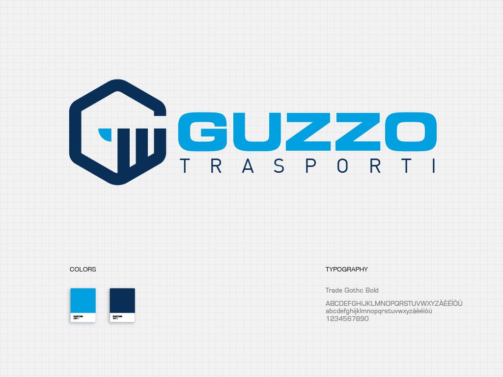 Realizzazione logo Guzzo trasporti