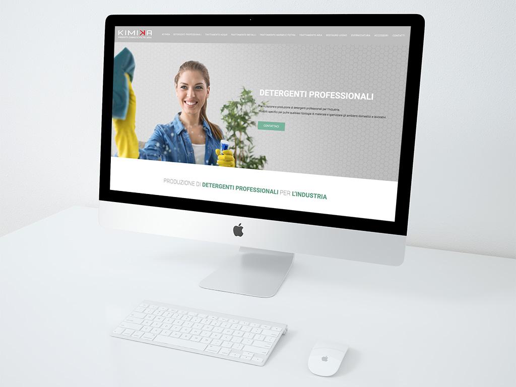 realizzazione sito web kimika